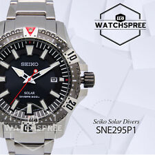 Seiko Solar Diver's Watch SNE295P1