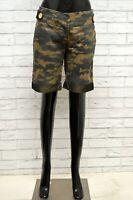 Pantaloncino GUESS MARCIANO Donna Taglia Size 40 Bermuda Shorts Pantalone Pants