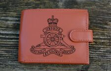 The Royal Artillery Men's Genuine leather wallet complete with Gift Box