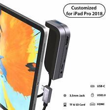 Concentrador USB maxonar C Para Ipad Pro 2018 2019 2020 6 en 1 Cubo de la estación de acoplamiento