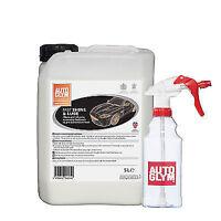 AUTOGLYM Fast Shine & Lube 5 Litre 5L LTR with Autoglym Spray Bottle