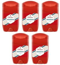 5x Old Spice Whitewater Deodorant Solid Stick for Men 5x50ml