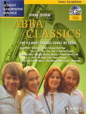 Schott Saxophone Lounge ABBA Classics Tenor Sax Play-Along Noten CD Dirko Juchem