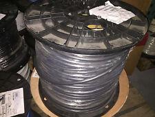 500ft Liberty Wire & Cable rgb6c/22-2p-pln Black RGB CBL 26/6 MHR+22/2P CMP BLK