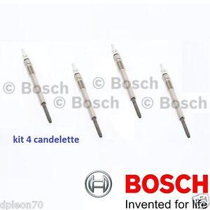 4 Stecker Bosch Opel Meriva 1.3 CDTI 09/03-03/ 10 55kW