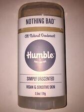 Humble deodorant - 2.5oz Unscented