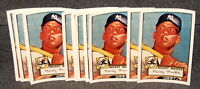 1952 TOPPS MICKEY MANTLE ROOKIE CARD 7 X 10 COLOR PHOTO LOT OF 12 MINT CONDITION