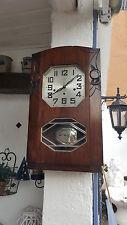 14/8 Sehr schöne antike  Westminster  Wanduhr  ODO 30 mit 8 Hammer & 8 Stäben