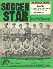 Soccer Star Magazine, 02.09.1966. Team pictures of Oldham Athletic, Bristol City