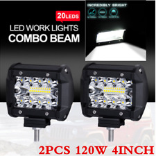 4inch LED Work Light Bar 120W Combo Flood Spot DRL Lamp Off-road ATV Truck Boat
