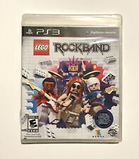 LEGO Rock Band (Sony PlayStation 3, 2009) BRAND NEW