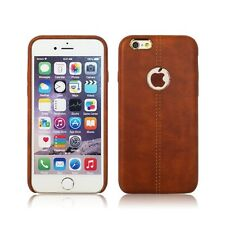 For Apple iPhone 10 X 8 / 7 Plus 6s Genuine Rugged Thin Leather Case Cover Skin