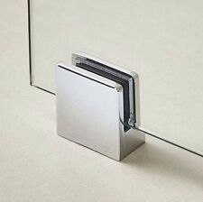 Wetroom Shower Panel Screen Support Foot Glass Clamp Fixing - Bottom Fit 4-10mm