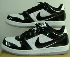 Mens 12 NIKE Air Prestige 3 SI Premium Black White Leather Shoes $80 451685-001
