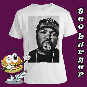 Ice Cube NWA  White T-shirt