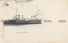 "French Navy Postcard. ""Le Guichen"" Cruiser. Training Ship. Undivided Back. 1900"
