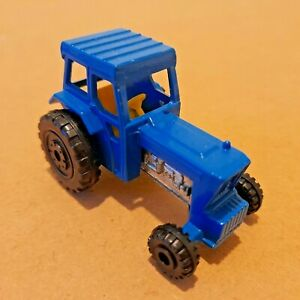 No.46 Matchbox Superfast Diecast Blue Ford Tractor 1978.