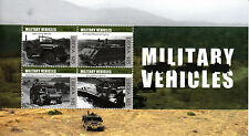 Liberia 2013 MNH Military Vehicles 4v M/S Willys MB M113 Pers Carrier M3 Stamps
