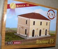 HS  A.C.M.E 30005 italienisches  Bahnhof der FS Lim. Edition Bausatz Fabrikneu
