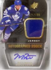 2011-12 SPX Matt Frattin SP Dual Rookie Autograph Jersey # 471 / 799