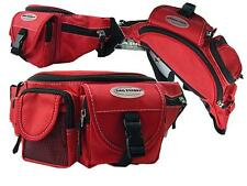 Gürteltasche Bauchtasche Hüfttasche BAG STREET Angeltasche Sport 2414 Rot