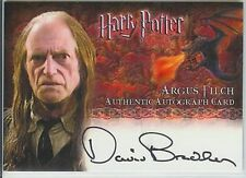 Harry Potter Memorable Autogramm Bradley Filch NM