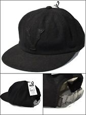 VANS Of The Wall CLASSIC V Hat Strapback Cap Black Wool Skate Mens NEW