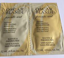 6✖️Oscar Blandi Pronto Wet Instant Volumizing Shampoo&CONDITIONER~SAMPLES