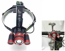 HIgh Power Zoomable Rechargeable LED Headlamp, also Bike Light and Work Light