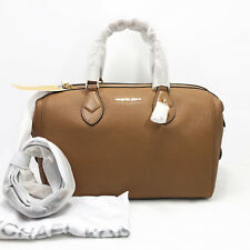 Michael Kors Grayson Large Convertible Satchel Shoulder Handbag Acorn Gold NWT