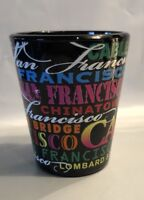 San Francisco black Shot glass shotglass