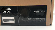 Cisco RV345-K9-NA Dual WAN VPN Router with 16 Gigabit Ethernet (GbE) Ports