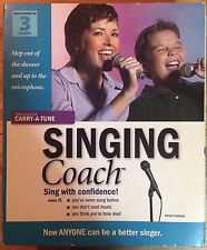 Singing Coach (UNOPENED headset and PC disc)