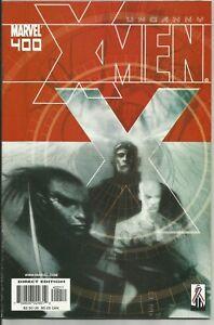 Uncanny X-Men #400 (2002) NM- 9.2 Wolverine,Angel,Iceman,Cyclops,Storm,Beast