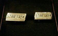 Star Trek Logo Cufflinks Free Shipping