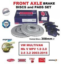 Para VW Multivan Mk V MPV 1.9 2.0 2.5 3.2 2003-2015 Eje Delantero