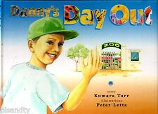 DANNY'S DAY OUT - KUMARA TARR & PETER LETTS Illustrated Childrens Number Book