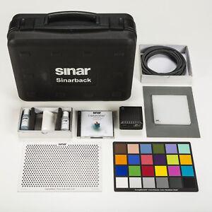 Sinar Digitalback 54M Komplettset inkl. Software und GretagMacbeth ColorChecker