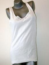 Triumph 1 Pieza Camiseta interior/Camiseta -tamaño 48- Blanco 100% algodón NUEVO