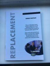 LAND ROVER FREELANDER 2 REPLACEMENT SERVICE BOOK LRL0178ENG