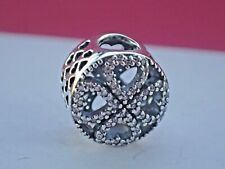 Authentic Sterling Silver PANDORA Charm Petals of Love 791808CZ S925 ALE