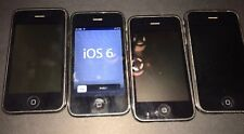 Lot Of 4 Apple iPhone Untested As Is A1241 A1303