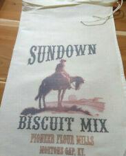 RL-36 SUNDOWN Flour Bag Sack Feed Seed  Novelty Collectible