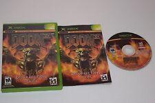 Doom 3 Resurrection of Evil Microsoft Xbox Video Game Complete