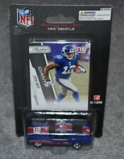 NEW YORK GIANTS STEVE SMITH 1:64 REPLICA DIECAST FORD MUSTANG CAR & CARD