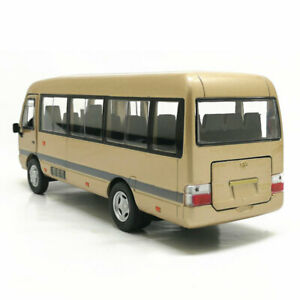 Toyota Coaster Van 1/32 Model Car Metal Diecast Gift Toy Vehicle Collection Kids