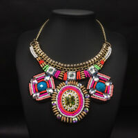 Boho Tribal Choker Pendants Necklaces Statement Necklaces For Women Jewelry