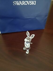 swarovski piglet RARE RETIRED MINT in original packaging and with coa. Lovely!
