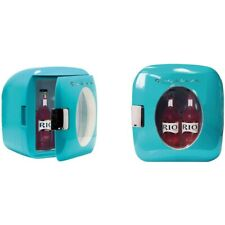 New listing Pe Frigidaire One 9-Liter 12-Can Portable Retro Mini Beverage Cooler Blue