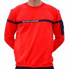 Sweat shirt SSIAP Sécurité Incendie taille XXXL sweatshirt sweat-shirt